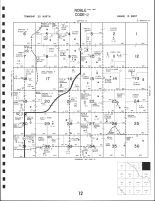 Noble Township East, Valley County 1985
